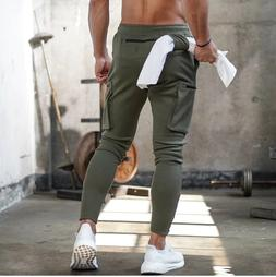 New 2020 Men's Track Pants for Jogging Gym Fitness Workout S