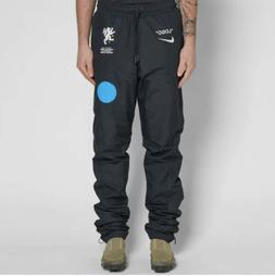 Nike x Off White Track Pants Size Large Black World Cup Foot